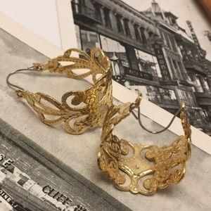 Jewelry - Fancy Hoop Earrings